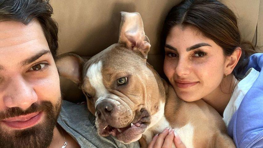 Jimi Blue Ochsenknecht mit Yeliz Koc und ihrem Hund Luna