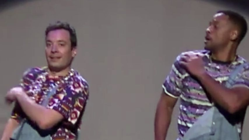 Will Smith & Jimmy Fallon imitieren MC Hammer & Co