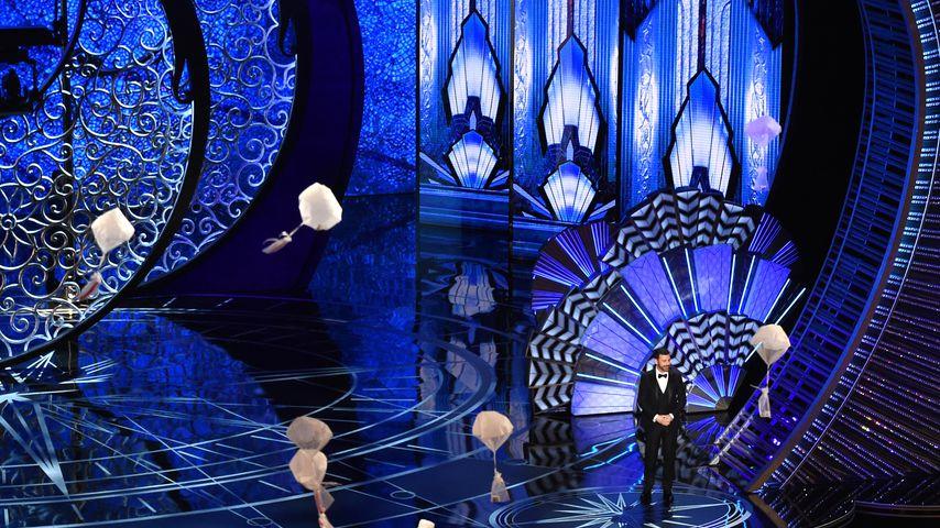 Jimmy Kimmel spricht bei den Academy Awards 2017