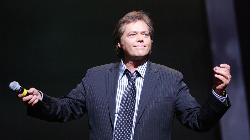 Auf der Bühne: Sänger Jimmy Osmond hatte Schlaganfall