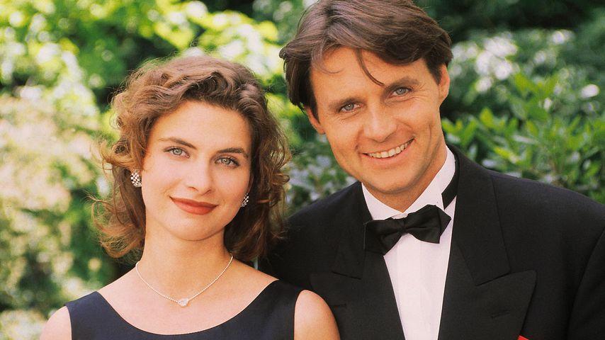 Jo Gerner (Wolfgang Bahro) und seine Tochter Vanessa (Anne Brendler) in GZSZ