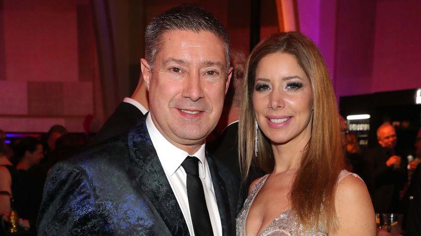 Joachim Llambi mit seiner Freundin Rebecca Rosenschon