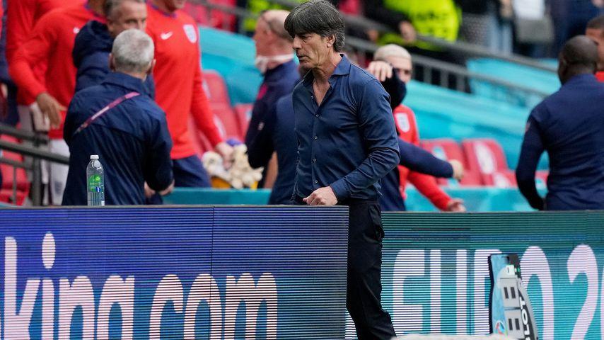 Joachim Löw nach der EM-Niederlage gegen England, Juni 2021