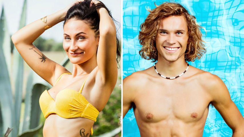 """Collage: Joana und Victor, """"Love Island""""-Kandidaten 2018"""