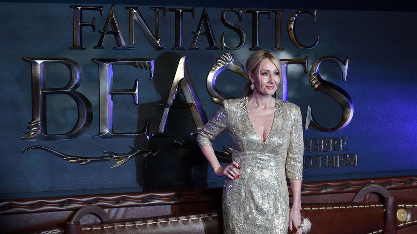"""Joanne K. Rowling bei der Europapremiere von """"Phantastische Tierwesen und wo sie zu finden sind"""""""