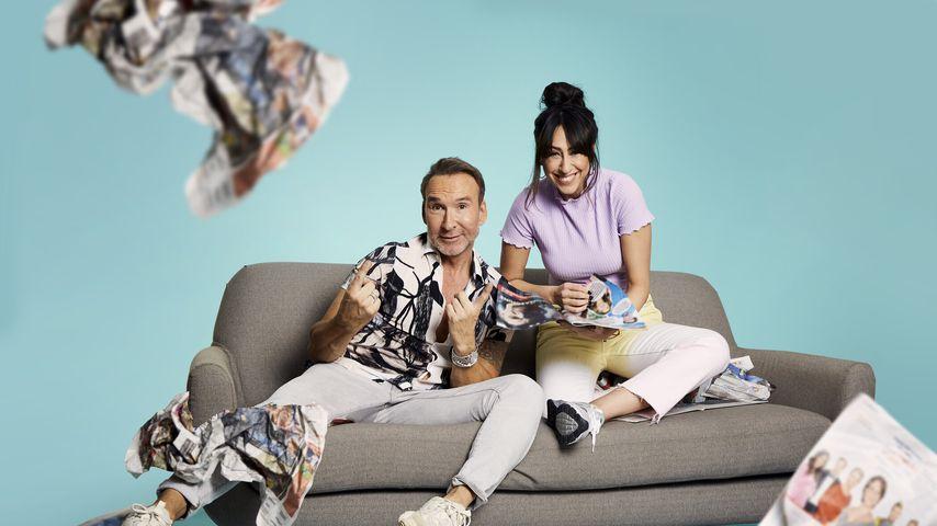 """""""Promi Big Brother – Die Late Night Show""""-Moderatoren: Jochen Bendel und Melissa Khalaj"""