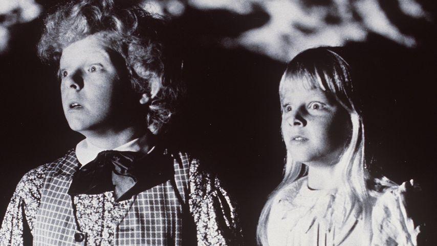 """Jodie Foster mit elf Jahren neben Jeff East in """"Tom Sawyer"""""""