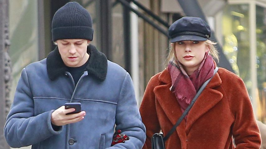 Taylor Swift & Joe feierten Weihnachten in eigenem Schloss