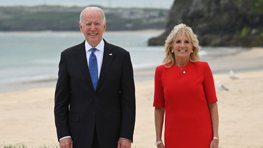 Joe Biden und seine Frau Jill im Juni 2021