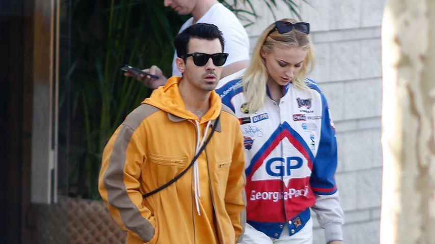 Sänger Joe Jonas und Ehefrau Sophie Turner