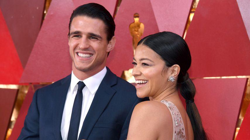 Joe LoCicero und Gina Rodriguez, März 2018