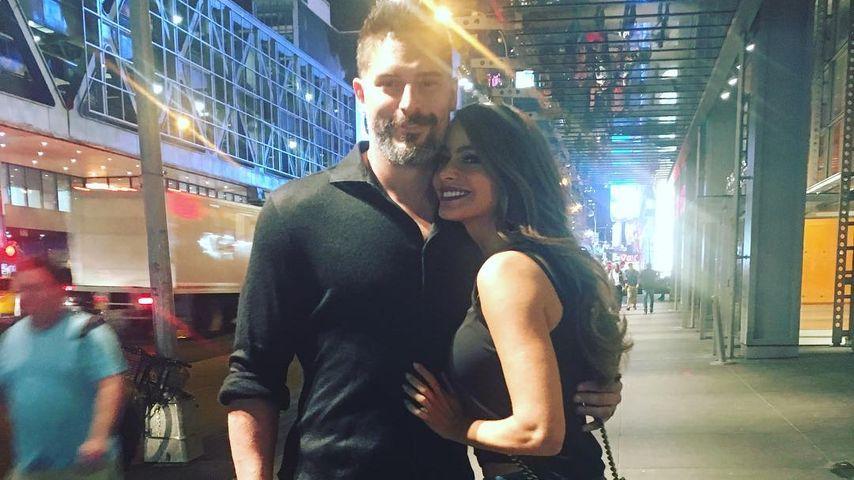 """True Blood""-Star Joe Manganiello und Ehefrau Sofia Vergara"