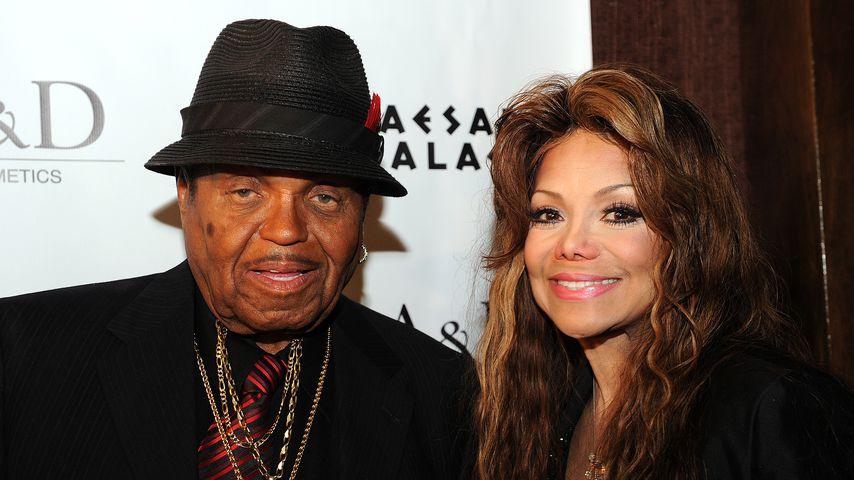 Joe und La Toya Jackson in Las Vegas 2011