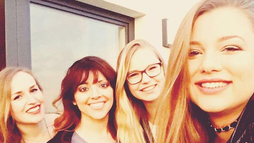 Joelina Drews mit Freundinnen an ihrem 21. Geburtstag