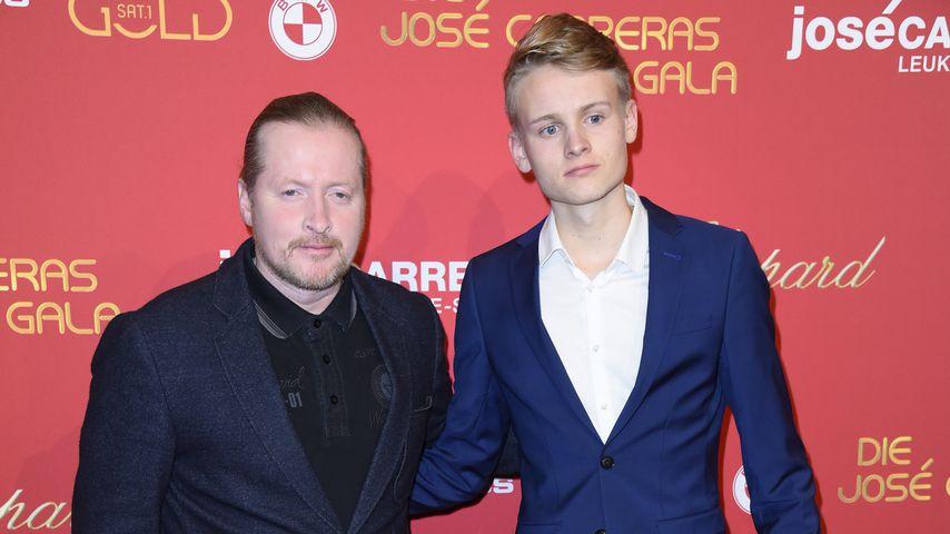 Joey und Luke Kelly bei der José Carreras Gala 2017