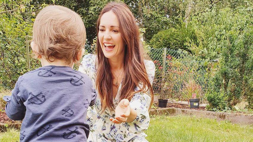 Johanna Klum gerührt: Ihr kleiner Sohn kann schon laufen!