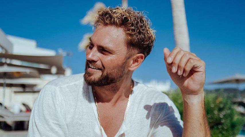 Johannes Haller auf Ibiza im Juli 2020
