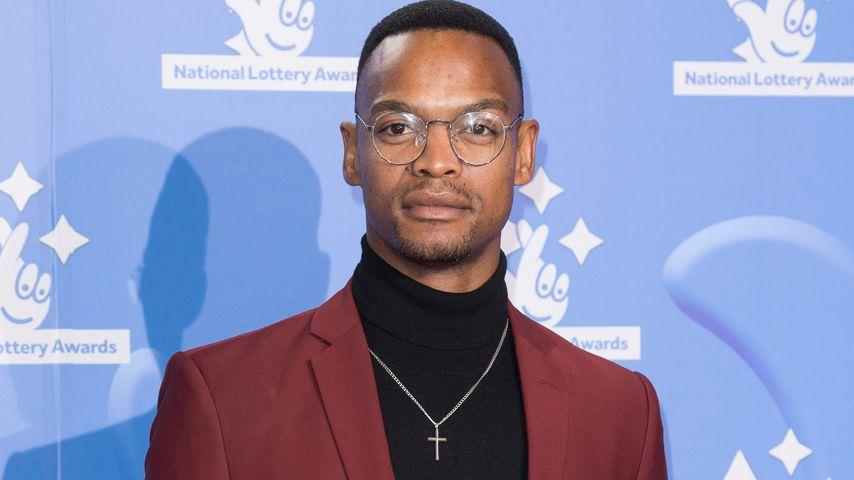 Johannes Radebe bei den National Lottery Awards 2018