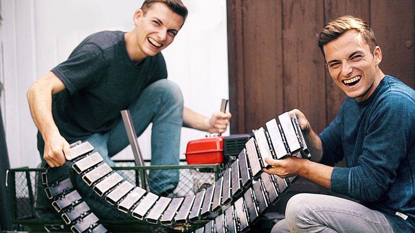 Die Zwillingsbrüder Johannes und Philipp Mickenbecker