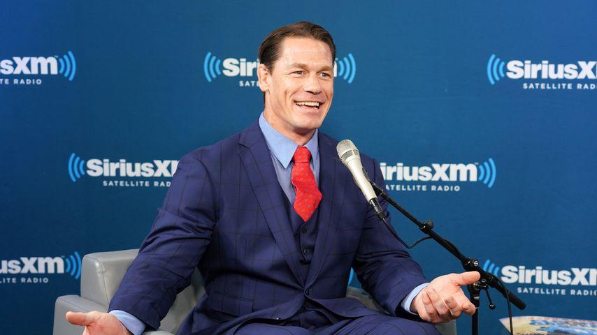 John Cena im SiriusXM Studio