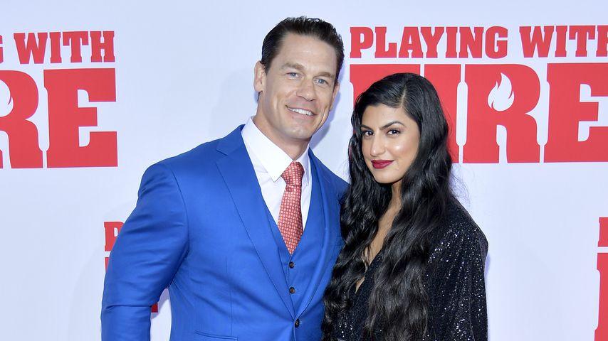 Zum ersten Mal: John Cena mit Freundin auf dem roten Teppich