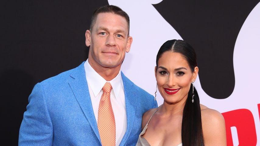 """John Cena und Nikki Bella bei der """"Blockers""""-Premiere"""