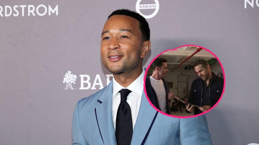 """John Legend ist """"Sexiest Man"""": Hugh und Ryan veralbern Titel"""
