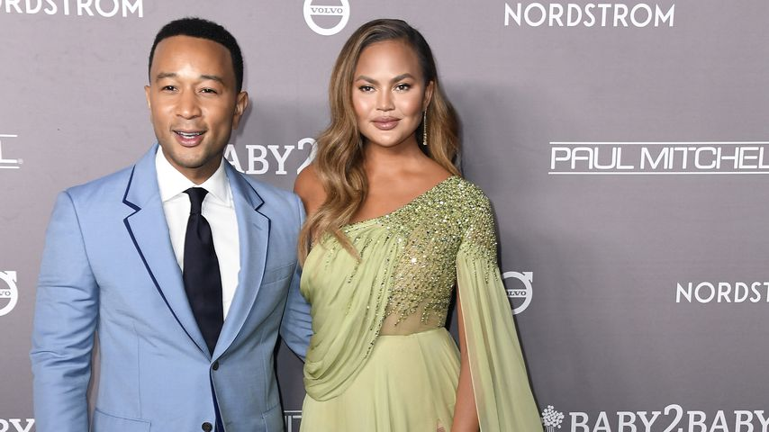 John Legend und Chrissy Teigen, November 2019