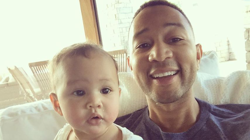 John Legend und Baby Luna