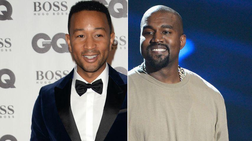 John Legend sicher: Kanye will wirklich Präsident werden!