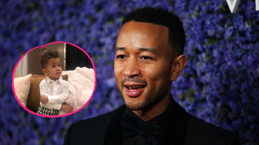 Süße Fotos: John Legend gratuliert Sohn Miles zum Geburtstag