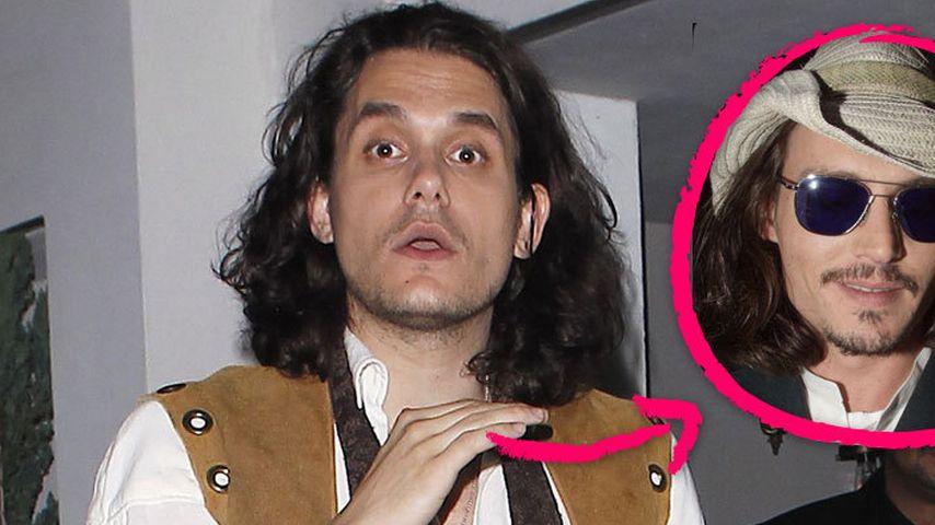 John Mayer wird zu Johnny Depps Doppelgänger