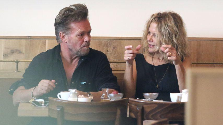 John Mellencamp und Meg Ryan beim gemeinsamen Lunch in New York