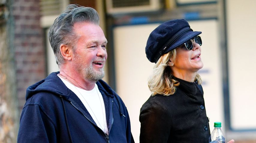 John Mellencamp und Meg Ryan in New York