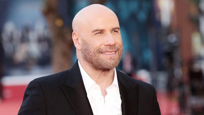 John Travolta beim Rome Film Festival im Oktober 2019