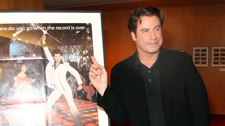 "John Travolta, beim 30. Jubiläum von ""Saturday Night Fever"""