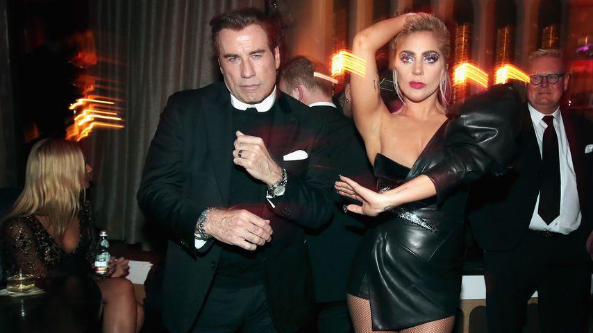 Heiße Sohle: Lady Gaga und John Travolta zeigen ihre Moves