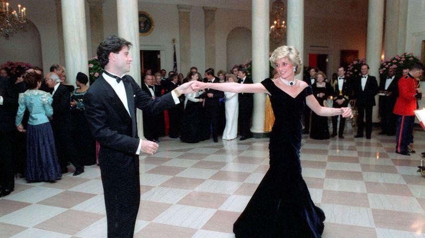 """Prinzessin Dianas """"Travolta-Kleid"""" wird Montag versteigert"""