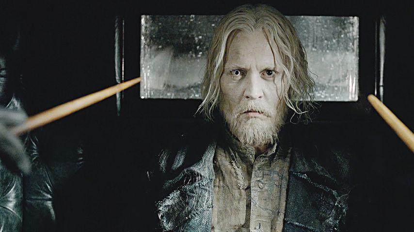"""Johnny Depp in """"Phantastische Tierwesen: Grindelwalds Verbrechen"""""""