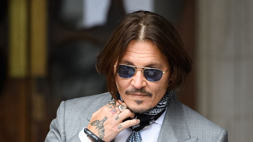 Johnny Depp im Juli 2020