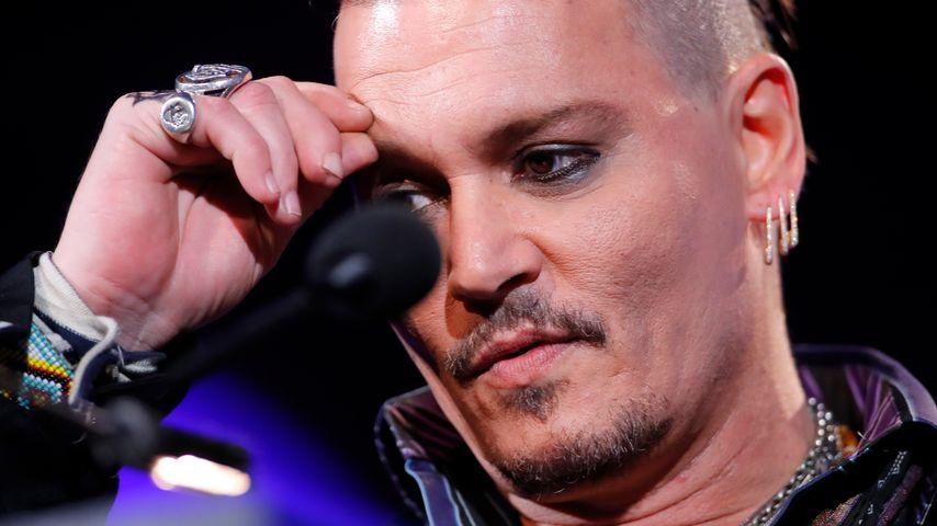 Wegen Scheidung: Steht Johnny Depp kurz vorm Zusammenbruch?