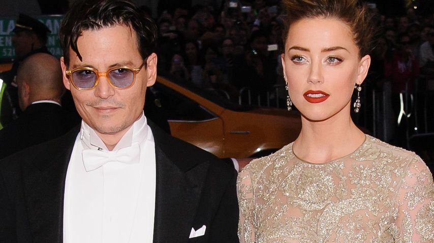 Johnny Depp & Amber: Heiraten sie an Silvester?