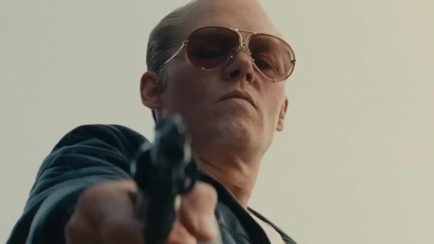 "Kaum zu erkennen: Johnny Depp im ""Black Mass""-Trailer"