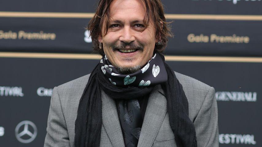 Johnny Depp beim Zurich Film Festival im Oktober 2020