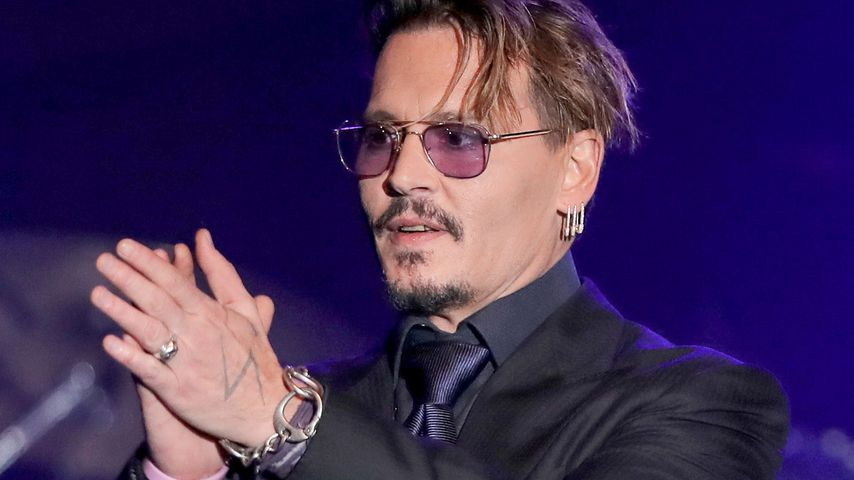Johnny Depp beim Rhonda's Kiss Benefit Konzert in L.A.
