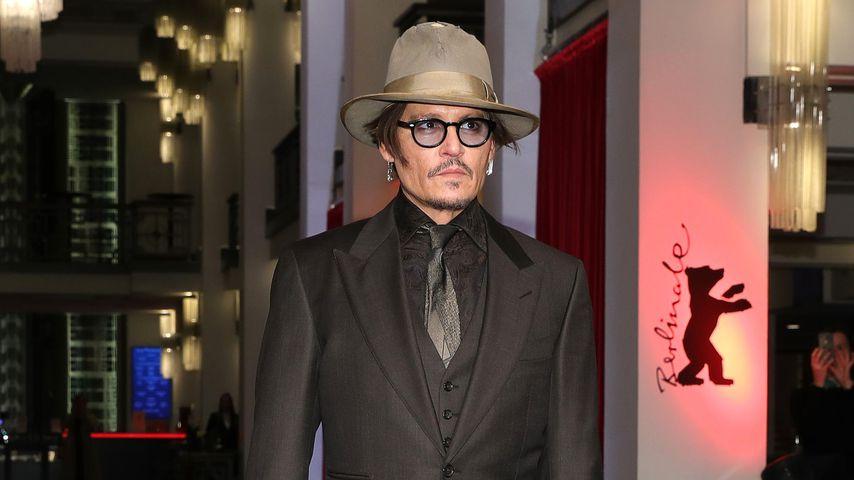 Johnny Depp bezaubert Fans und Promis auf der Berlinale