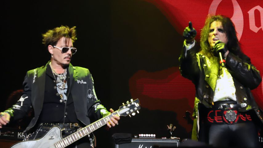 Johnny Depp und Alice Cooper, Mai 2019