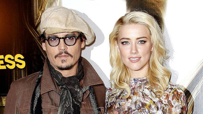 Johnny Depp benennt Strand nach Amber Heard