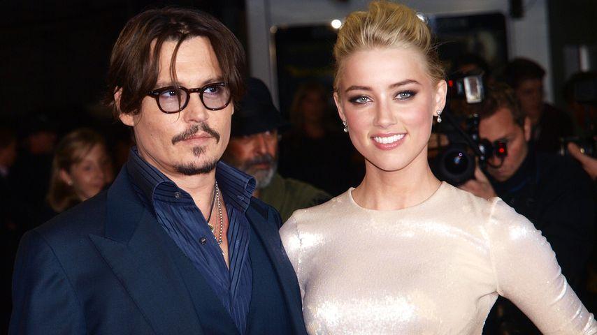 Johnny Depp und Amber Heard, 2011
