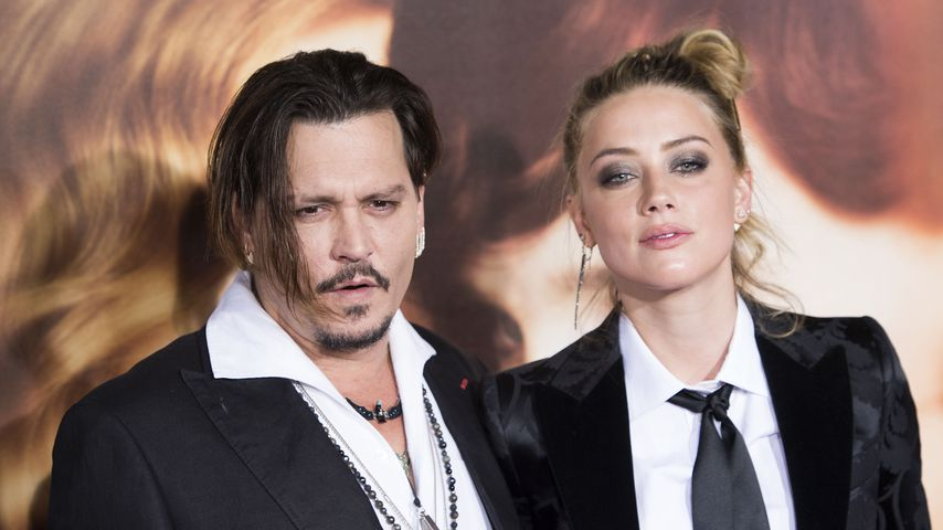"Johnny Depp und Amber Heard bei der Premiere von ""The Danish Girl"""